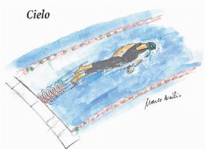 Cielo e o segredo das medalhas na natação.