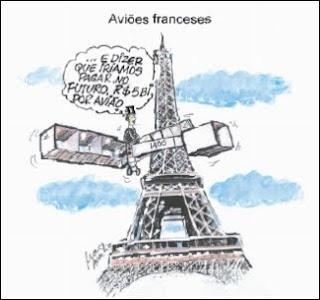 Charge Avião Francês