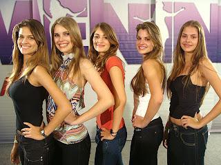 Menina Fantástica 2009. Finalistas de São Paulo.