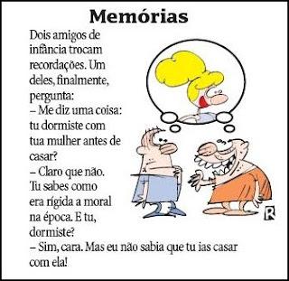 Lembranças perigosas, piada