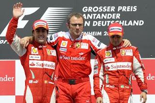 Ferrari. Vergonha na Fórmula 1.
