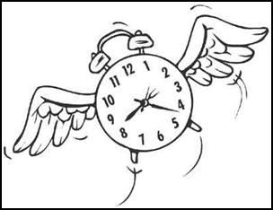 Você sabe quando o tempo passou? Humor.