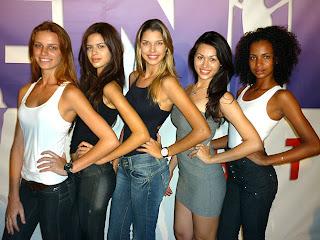 Menina Fantástica 2010. Eleitas em Recife.