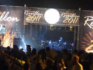 Reveillon 2011 na Praia de Torres RS.