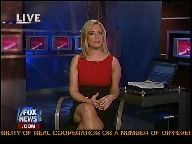 Fox News Anchors Legs