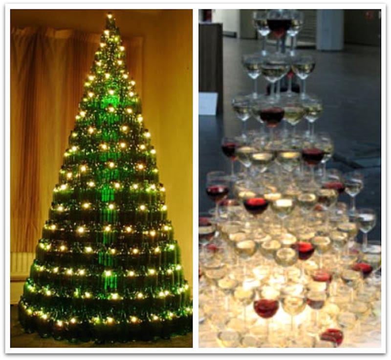 alternative christmas trees - Wall Mounted Christmas Tree