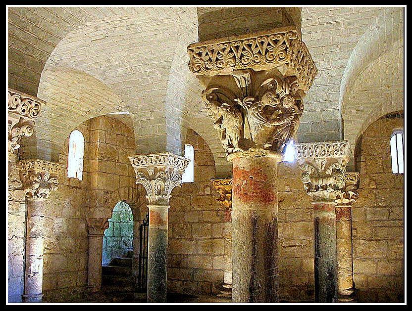 La crypte de saint girons for La rotonde saint girons