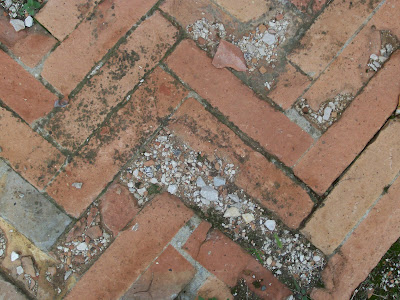 texture brick ground