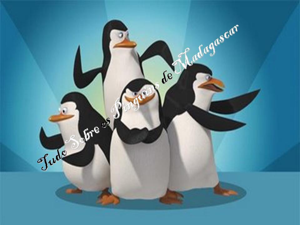 Tudo sobre os Pinguins de Madagascar