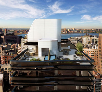 These Pictures Are From A Wonderful New York City Penthouse Apartment  Designed By UnStudio. This Building Features A Series Of Metal Bands At  Different ...
