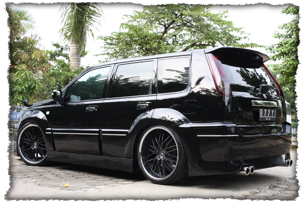 Modification Of Car And Motorcycle Great X Trail Modif Black Car