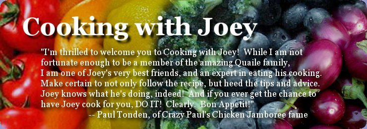 Cooking with Joey