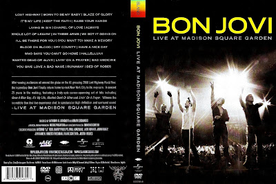 Videos musicales en dvd bon jovi live at madison square garden 2009 for Bon jovi madison square garden