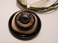 Beautiful Vintage Button Pendants