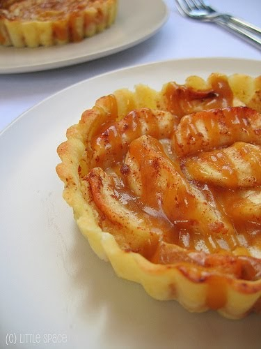 Suitable For Consumption: Apple Tart With Caramel Sauce