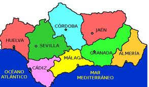 las provincias de andalucia: