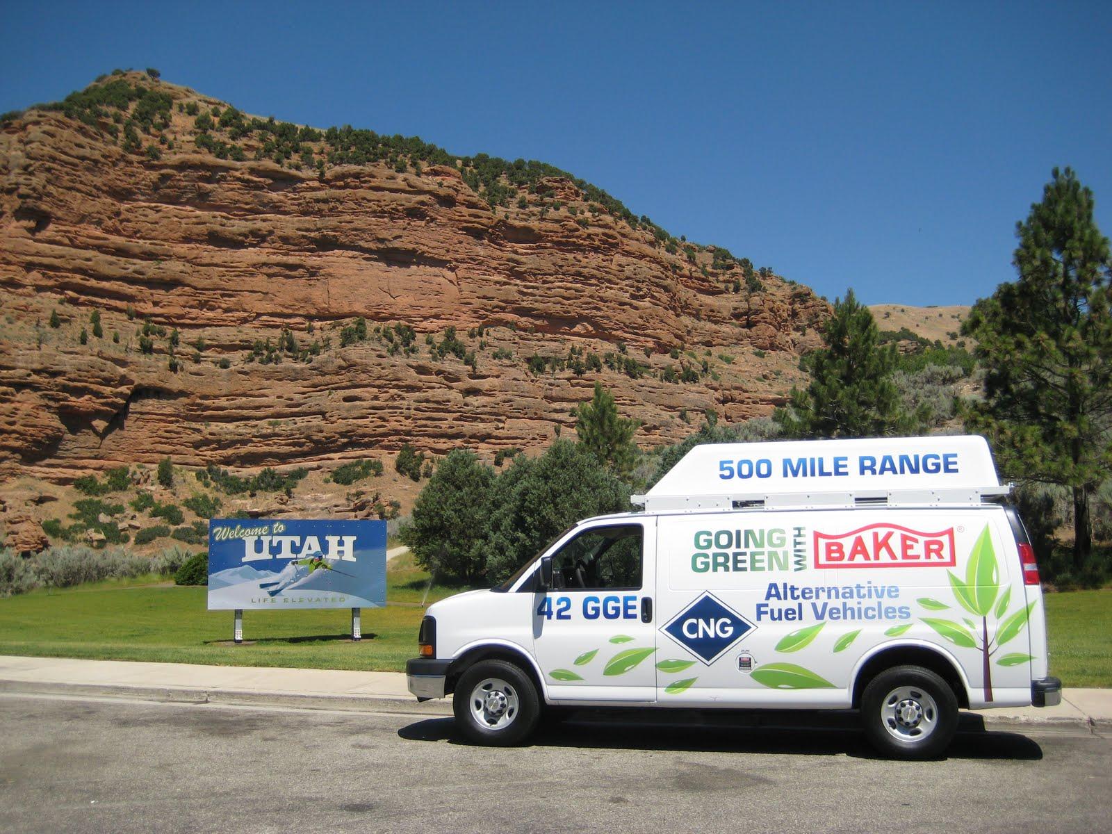 Baker Shows Off Their Long Range CNG Van Conversion