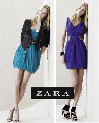 Zara ilkbahar yaz koleksiyonu 2009