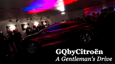unveiling, party, GQbyCitroen, Magazine, London, Hospital Club, gentleman quintessentially, Conde Nast, Covent Garden, Men's Style, Citroen, Concept, Car, Fastback