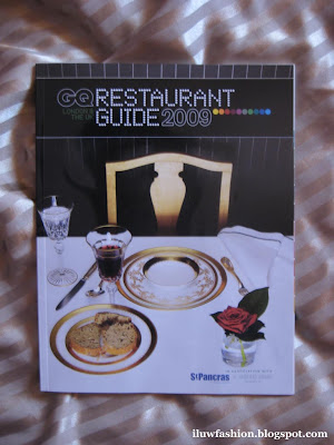 GQ Magazine, Gentlemen Quintessentially, Resturant Guide 2009, luxury dinning, London Luxury food, food guide, GQstyle.com