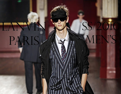 Lanvin, Milan, 2009, Spring Summer 2010, runway, designer, gallery, mens style, men's style