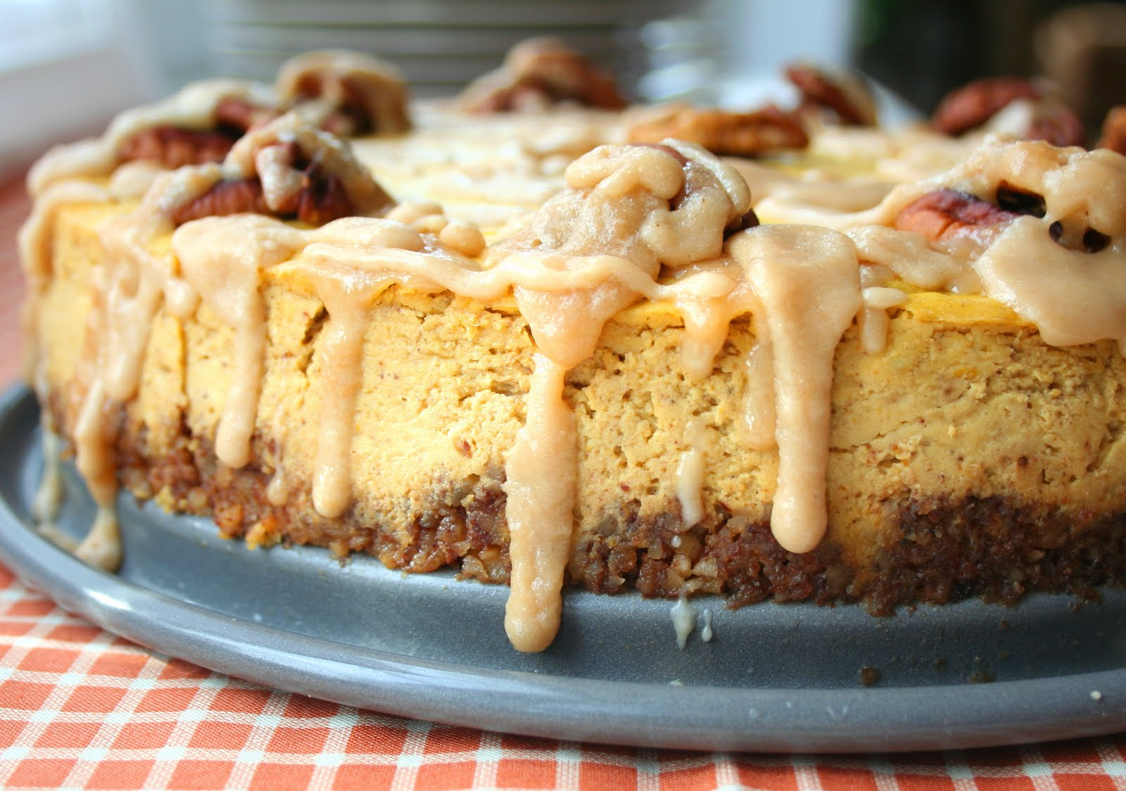 cheesecake bourbon pumpkin cheesecake pumpkin cheesecake with bourbon ...