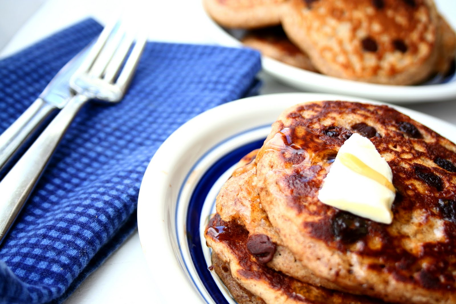 Gingerbread Chocolate Chip Pancakes (Low Carb and Gluten Free plus the ...