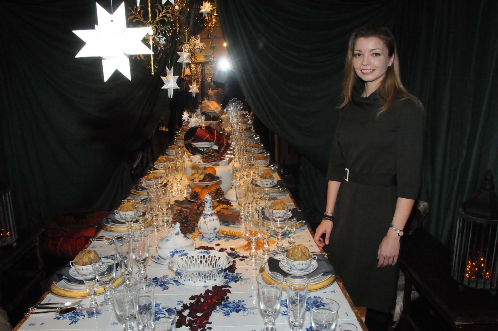 Christmas tables at royal copenhagen international