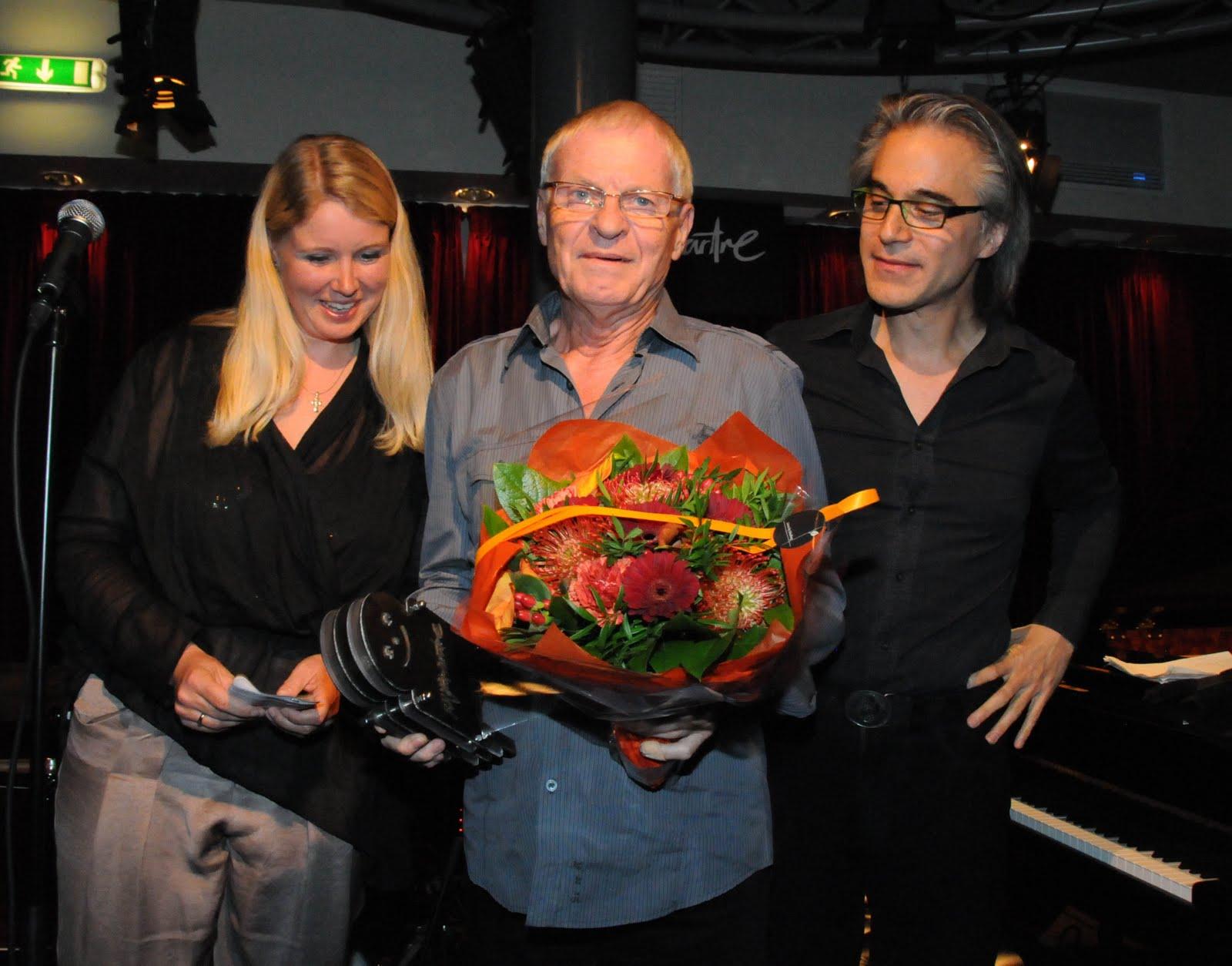 Copenhagen Jazzhouse Montmartre Legends Lifetime Achievements Award