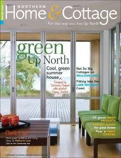 Northern home cottage magazine green issue the column for Home and cottage magazine