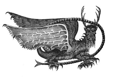 [Piasa bird of the Mississippi River]