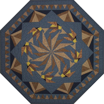 [Prairie Star Slide quilt by Burge]