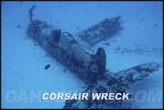 Corsair airplane wreck