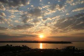 Brasília's sunset