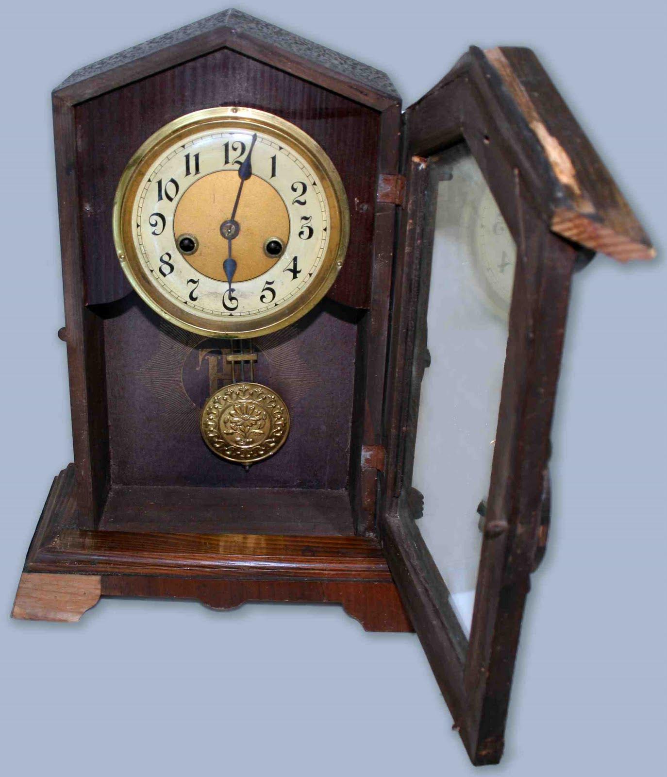 deco antiques deco clock