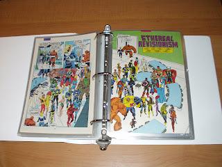 Fantastic Four page comparison