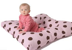 Floor Nanny Pillow For Baby : The Ethertons: Floor Nanny Review and GIveaway