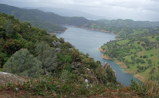 Overlook to Lake Berryessa, Stebbins Cold Canyon Reserve, Solano County, California