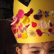 flower petals crowns