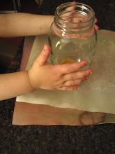 make a watercolor lantern