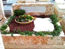 ניקוי קבר בבית קברות