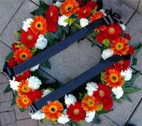 זרי אבל - גלגל אבל ללוויה