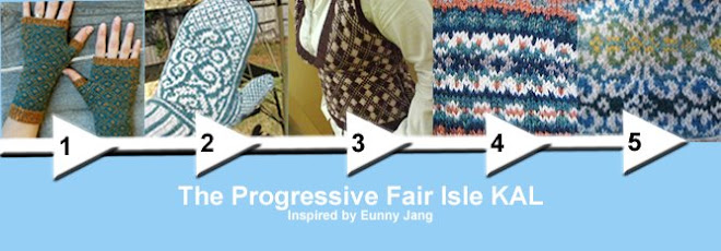 Improving Fair-Isle Skills with Eunny