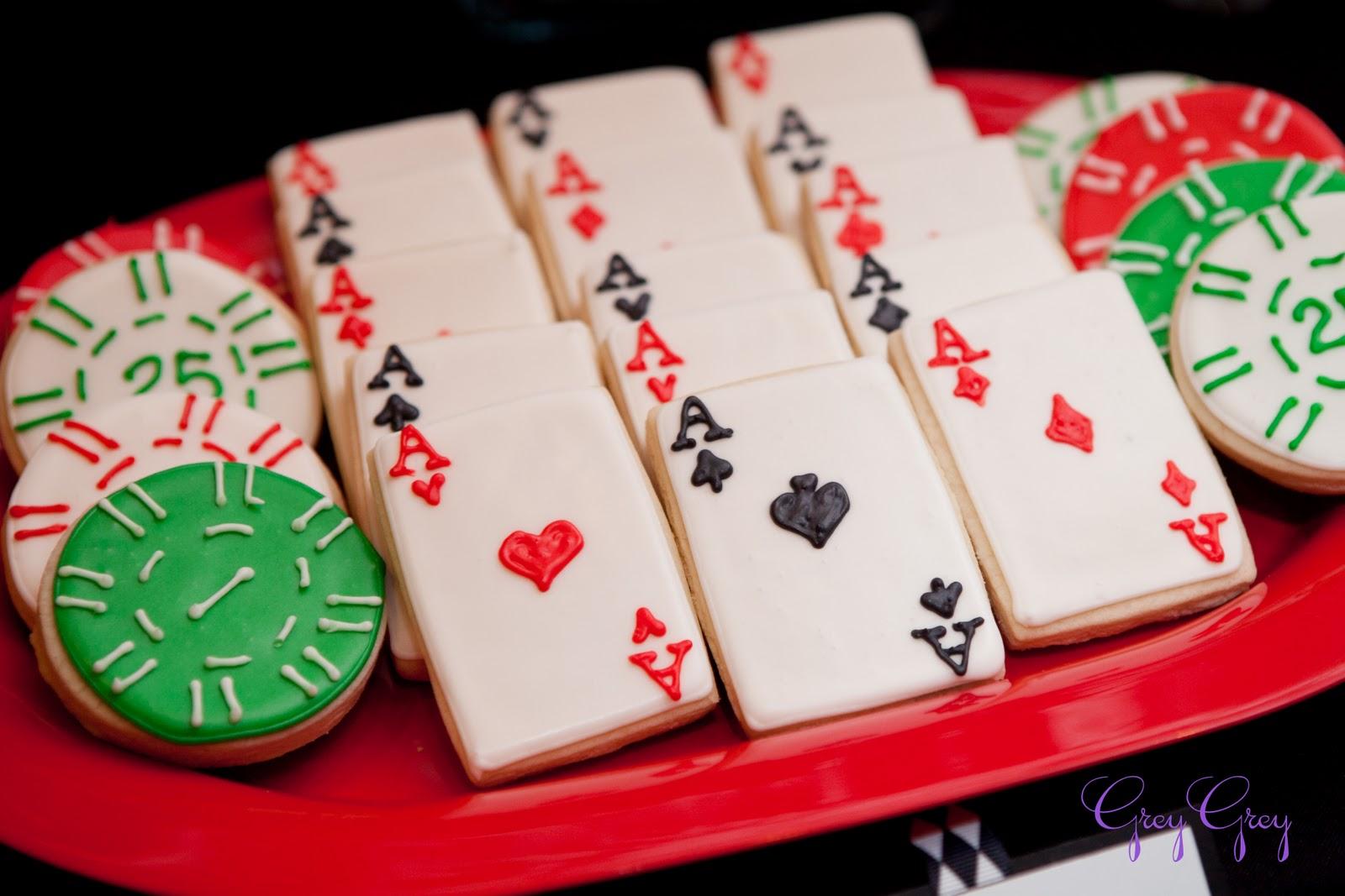 greygrey designs   my parties  casino 40th birthday party