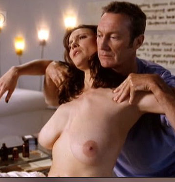 Mimi Rogers Nude in Full Body Massage with her Huge Boobs