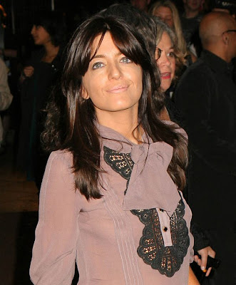 Claudia Winkleman See Through Shirt Shows Large Nipples