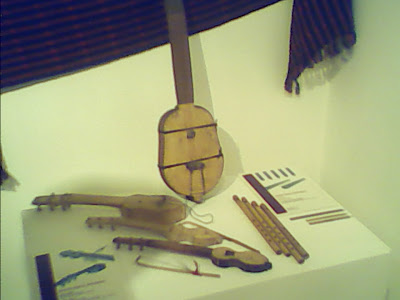 Mangyan musical instruments.