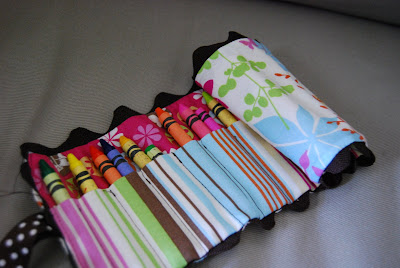 DIY Crayon Roll | Sewing Project | Quiet Bag