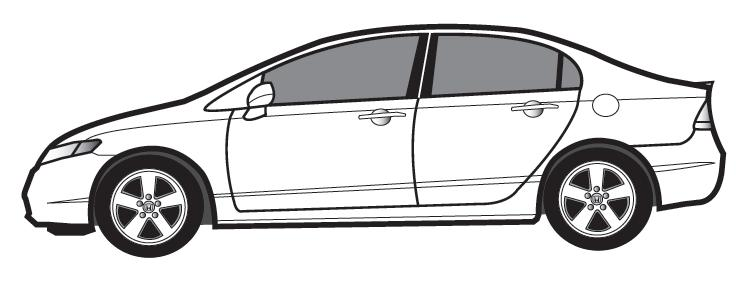 free honda civic coloring pages