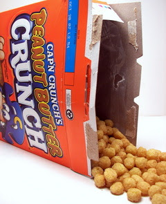 Cap'n Crunch Peanut Butter Cereal Picture
